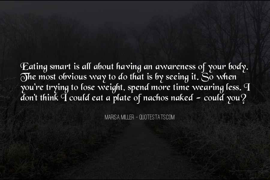Want To Lose Weight Quotes #64079