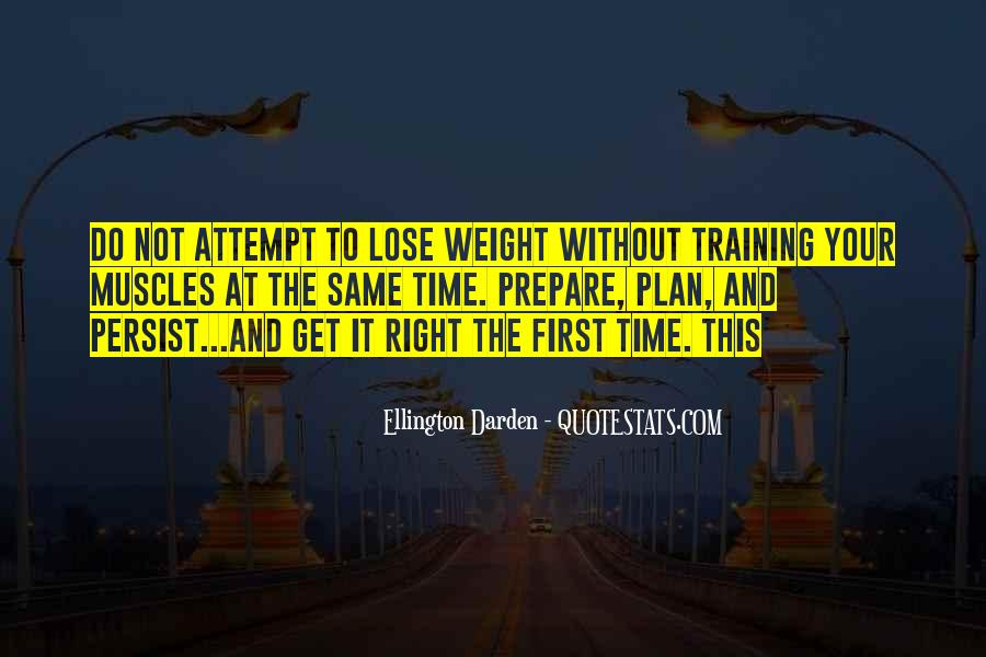 Want To Lose Weight Quotes #7240