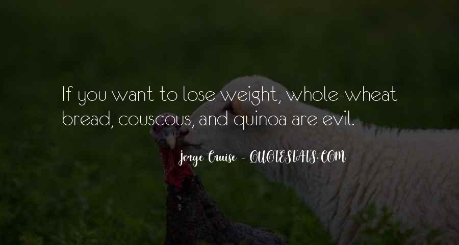 Want To Lose Weight Quotes #773365