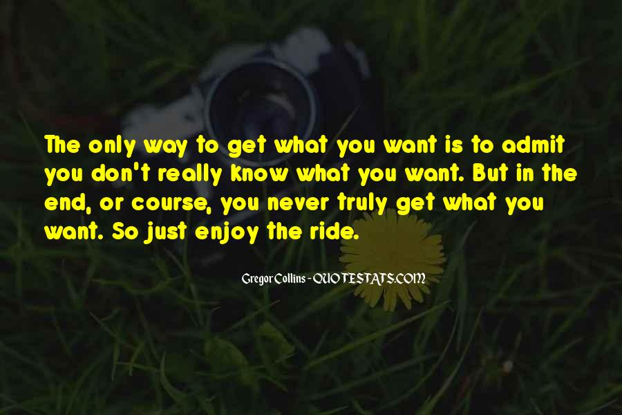 Want To Quotes #1684