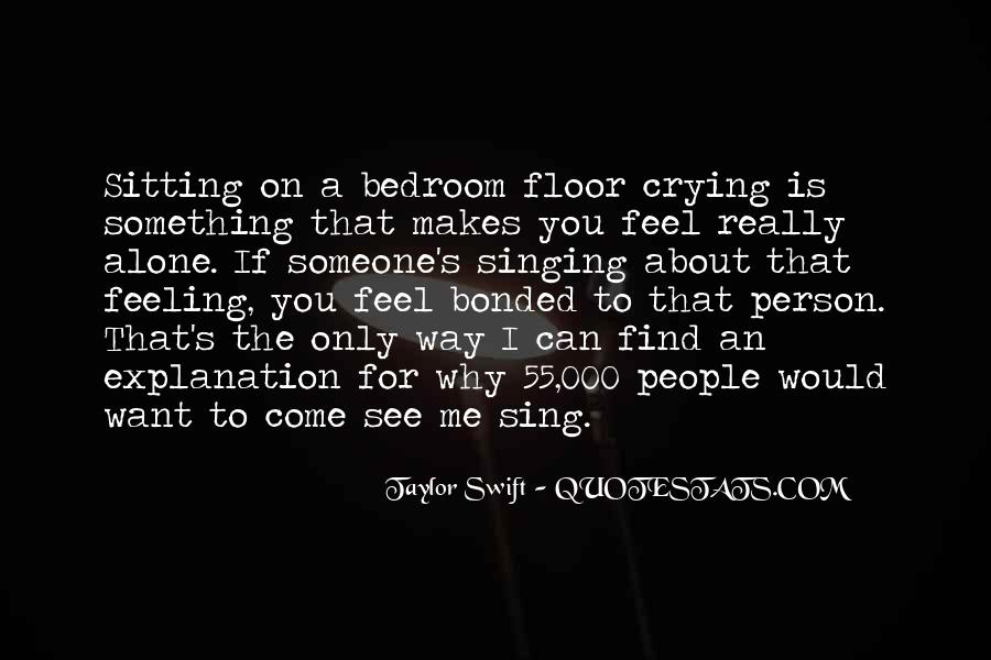 About how you feel about someone