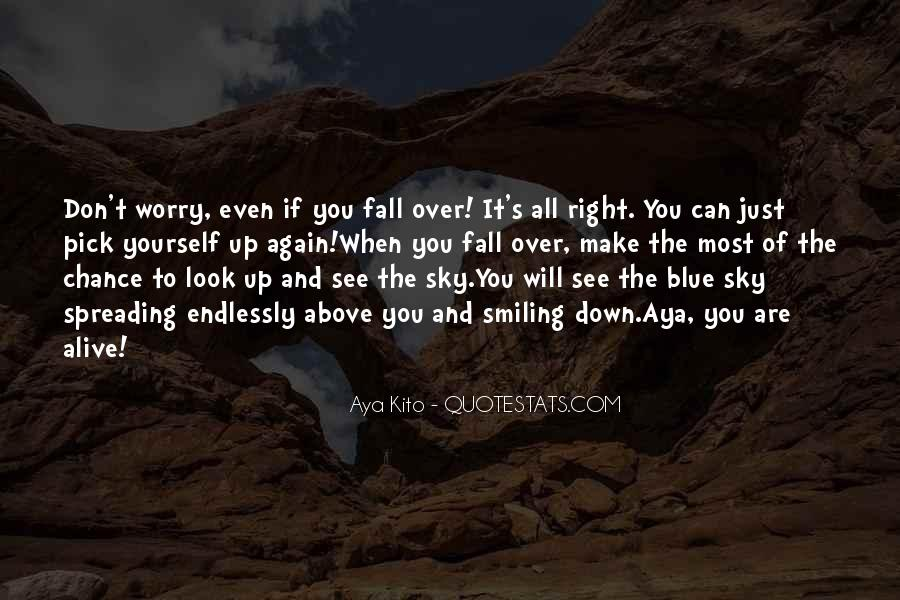 Want To See You Fall Quotes #141765