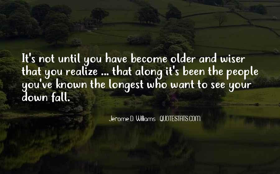 Want To See You Fall Quotes #1498041