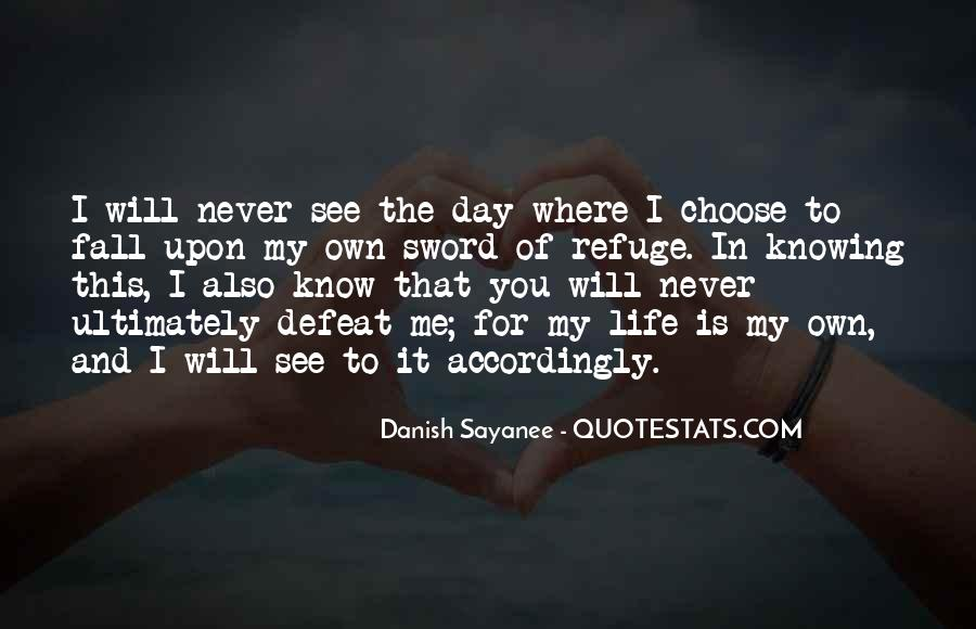 Want To See You Fall Quotes #168689