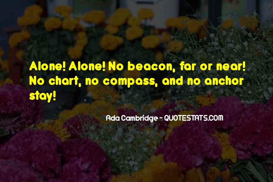 Want To Stay Alone Quotes #351490
