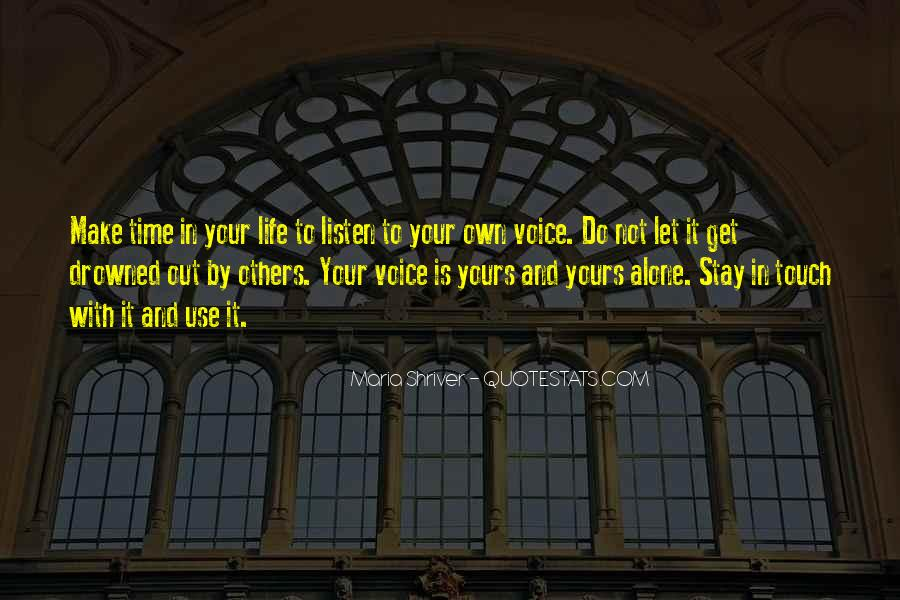 Want To Stay Alone Quotes #361030