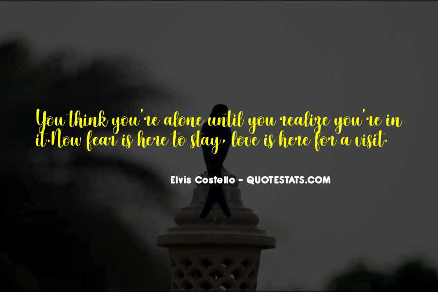 Want To Stay Alone Quotes #443036