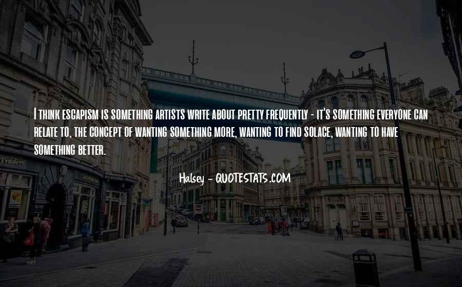 Wanting Something More Quotes #188409