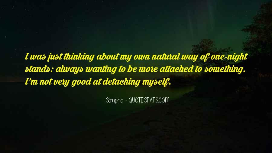 Wanting Something More Quotes #821602