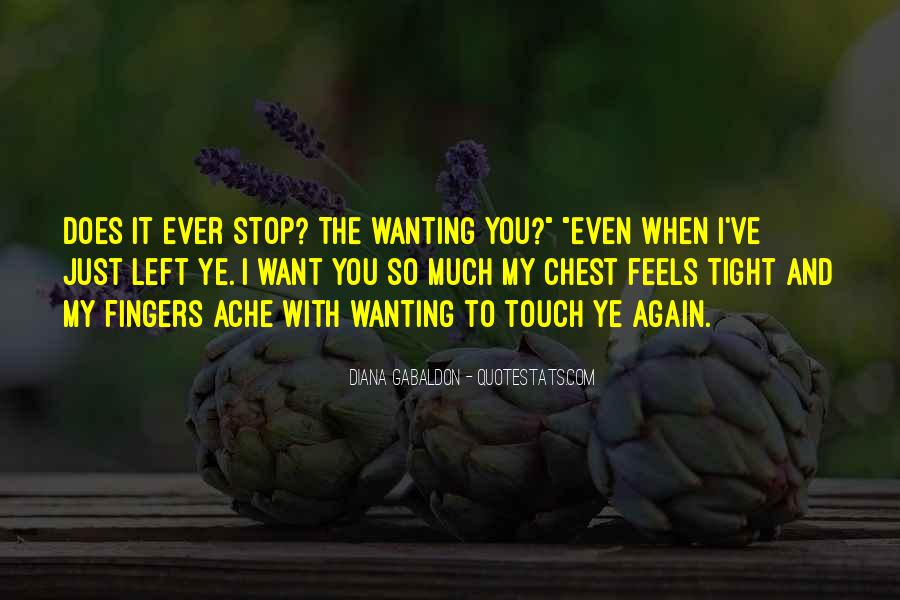Wanting Your Touch Quotes #1060248