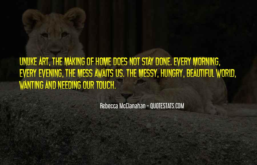 Wanting Your Touch Quotes #1656848
