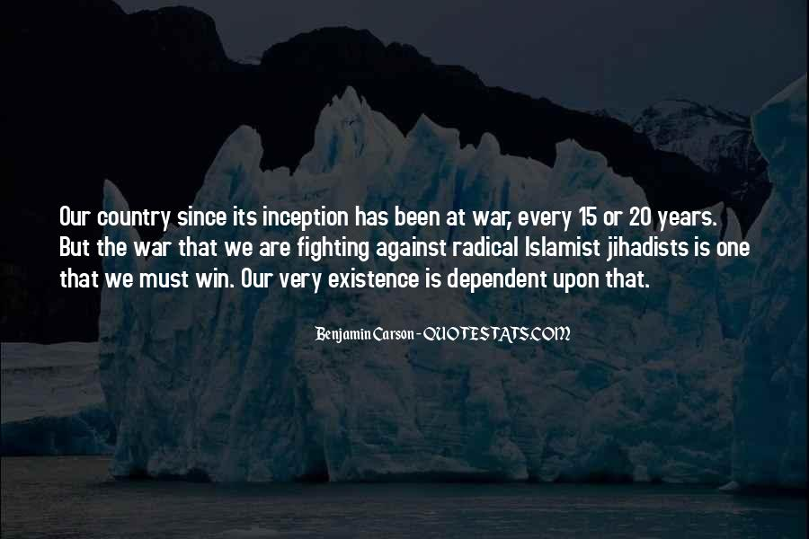 War Against Ourselves Quotes #16411