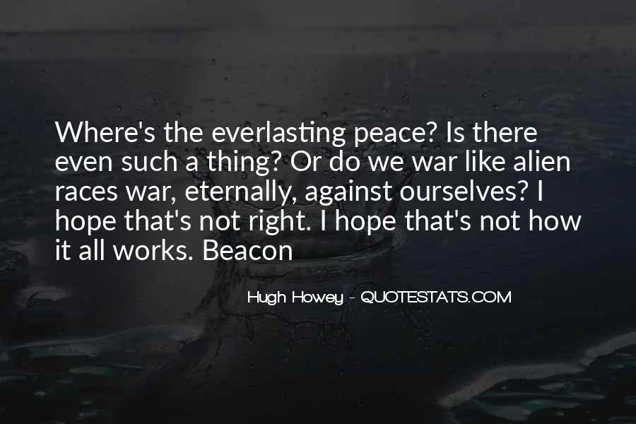 War Against Ourselves Quotes #1760255
