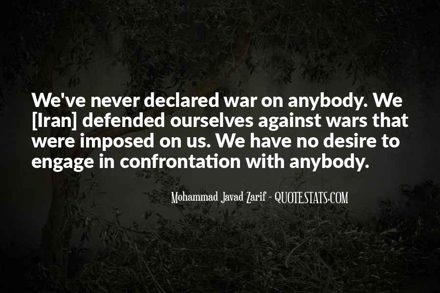 War Against Ourselves Quotes #196079