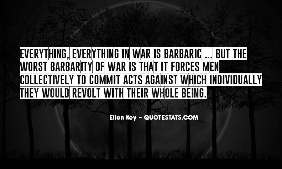 War Against Ourselves Quotes #82591