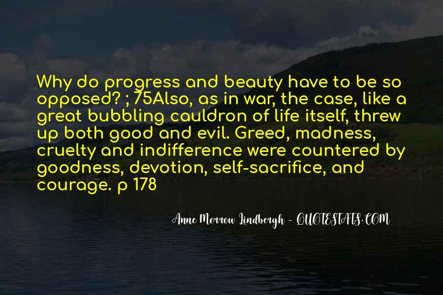 War And Sacrifice Quotes #1182347