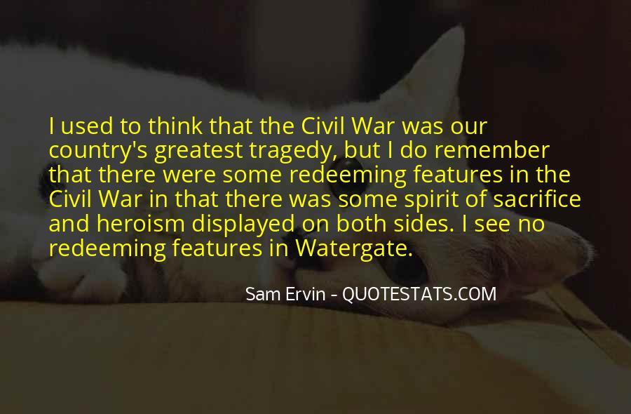 War And Sacrifice Quotes #184047