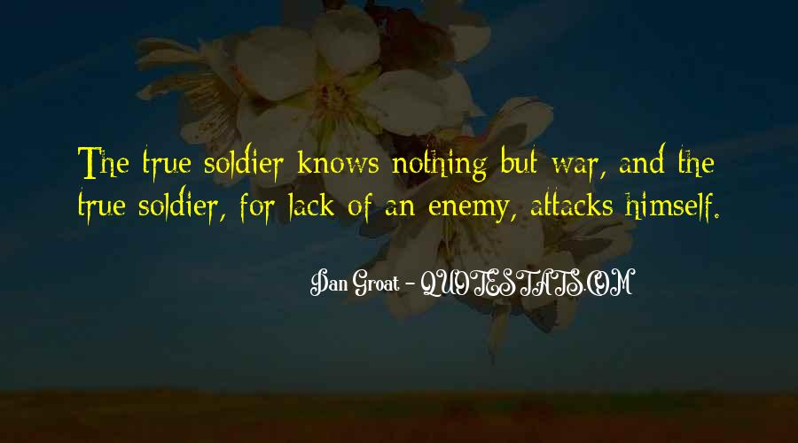 War And Sacrifice Quotes #62635