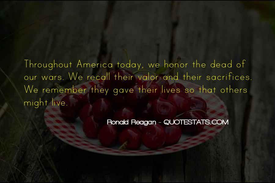 War And Sacrifice Quotes #821427
