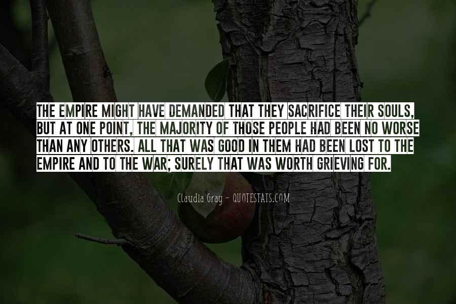 War And Sacrifice Quotes #936636