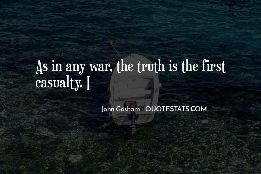 War Casualty Quotes #1164103