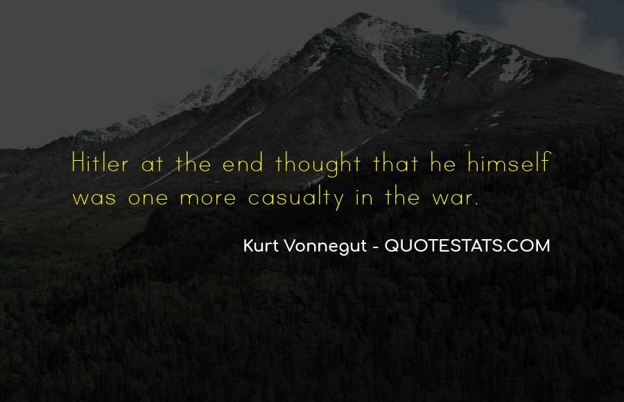 War Casualty Quotes #303614