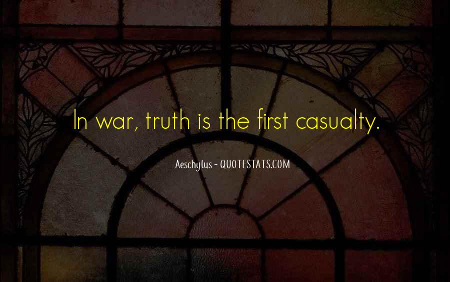 War Casualty Quotes #485060