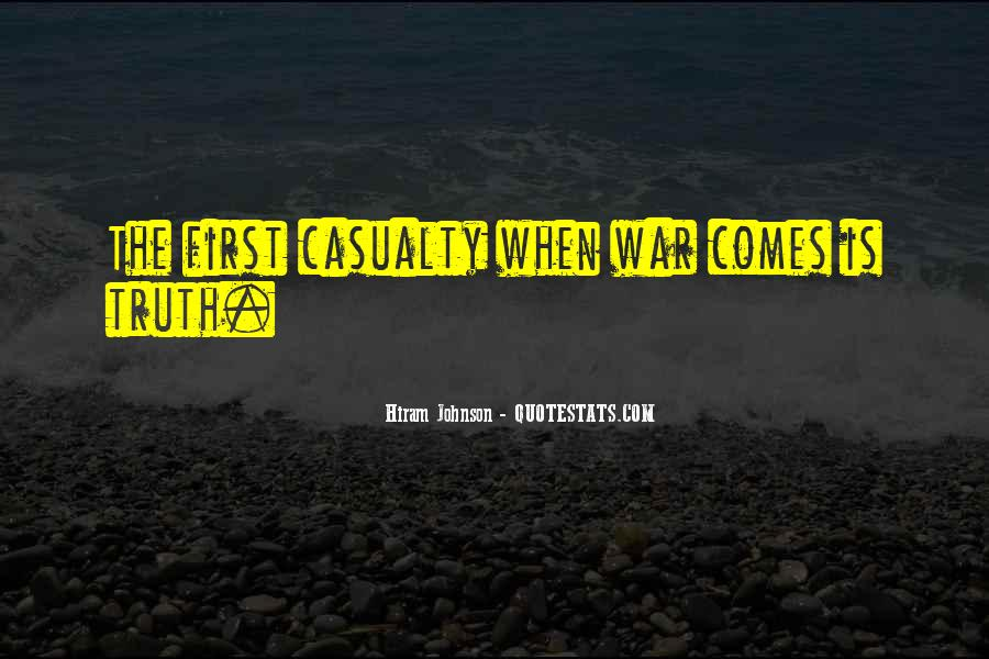 War Casualty Quotes #708562