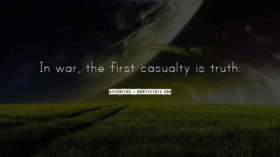 War Casualty Quotes #780219