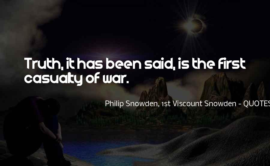 War Casualty Quotes #920241