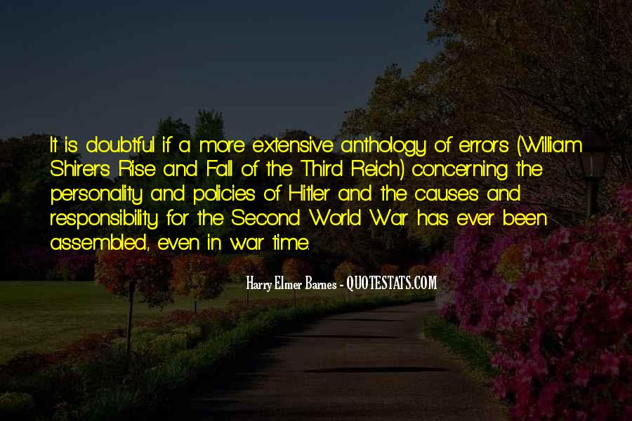 War Causes Quotes #135979