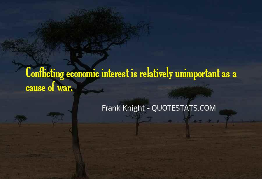 War Causes Quotes #213799