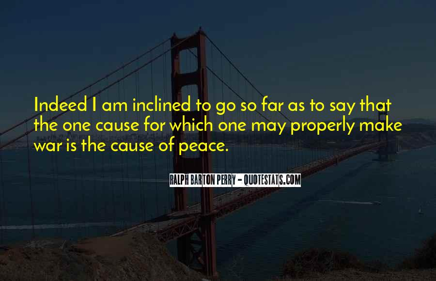 War Causes Quotes #241119