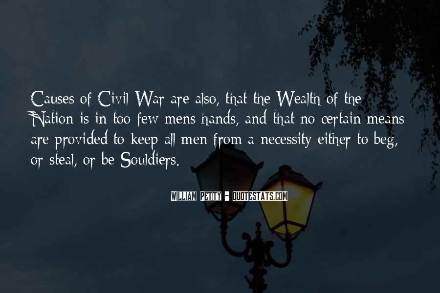 War Causes Quotes #288270