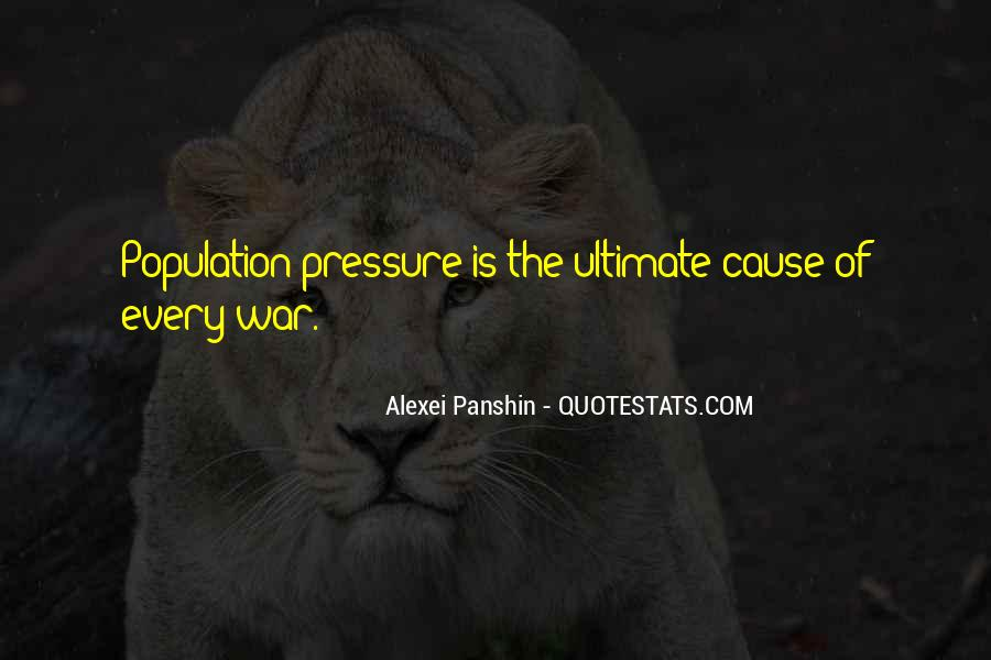 War Causes Quotes #490281