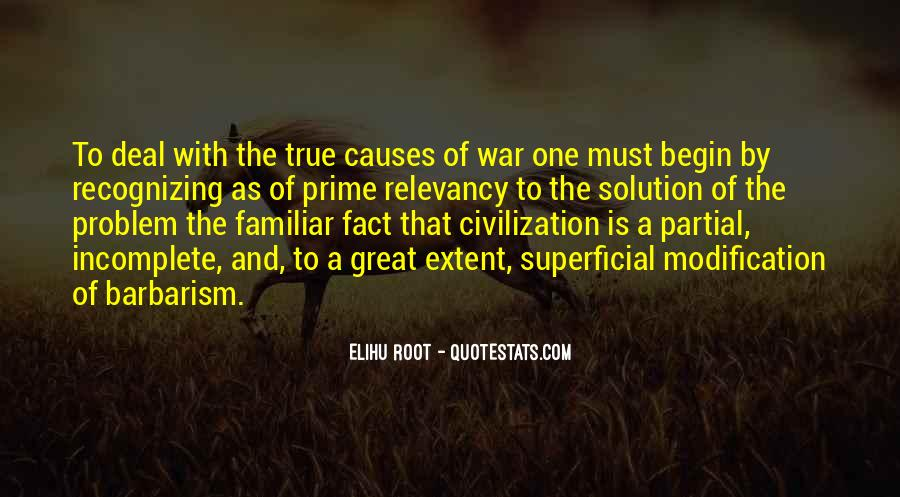 War Causes Quotes #527297