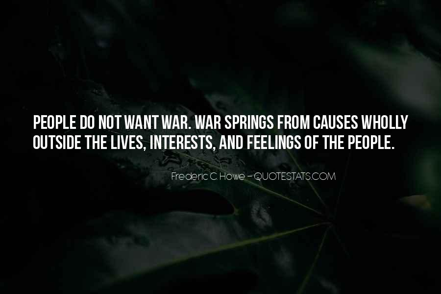 War Causes Quotes #948098