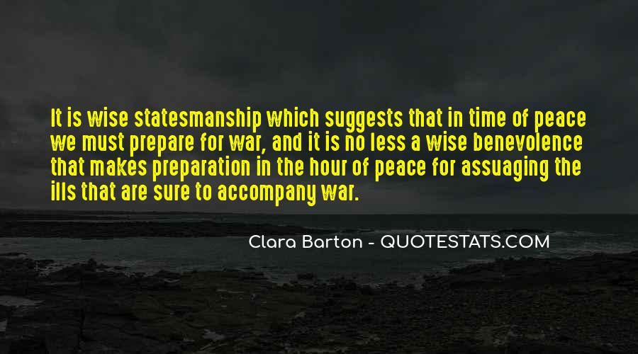 War Preparation Quotes #121491