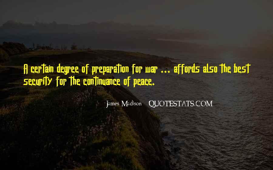 War Preparation Quotes #1290793