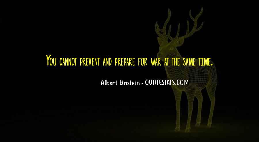 War Preparation Quotes #1486507