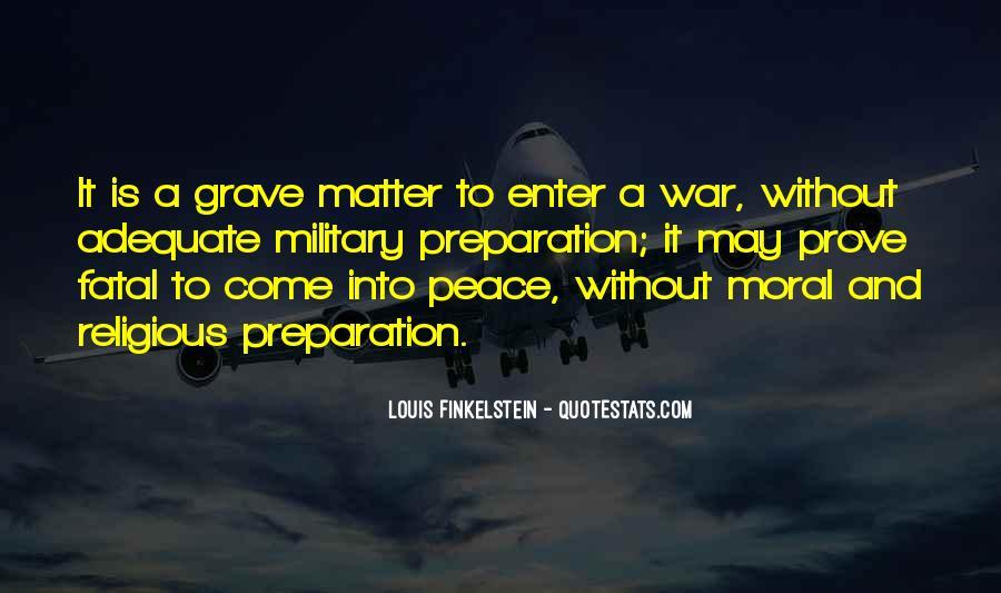 War Preparation Quotes #1572465
