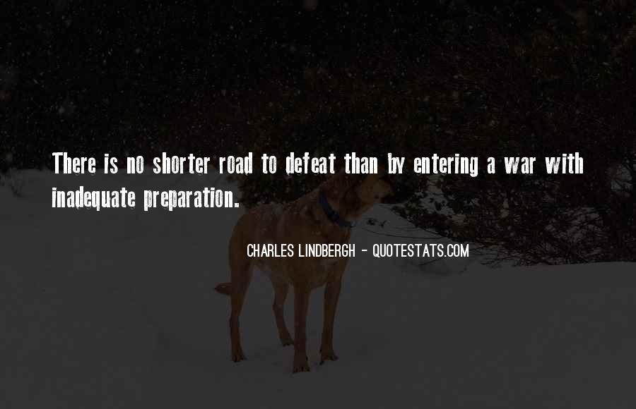 War Preparation Quotes #1585472