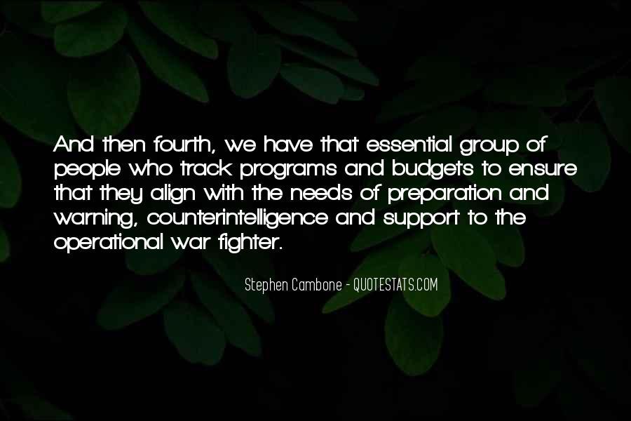 War Preparation Quotes #1843744