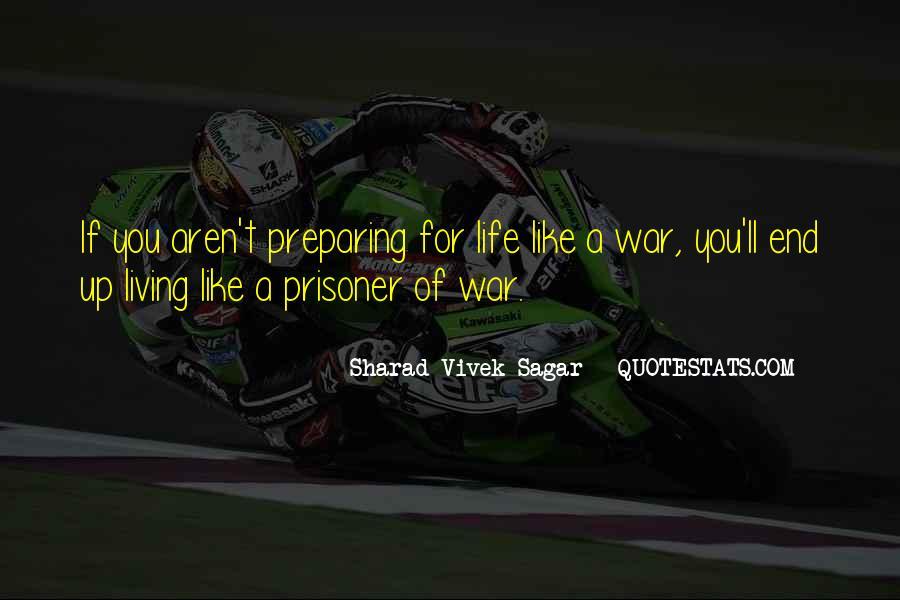 War Preparation Quotes #275549
