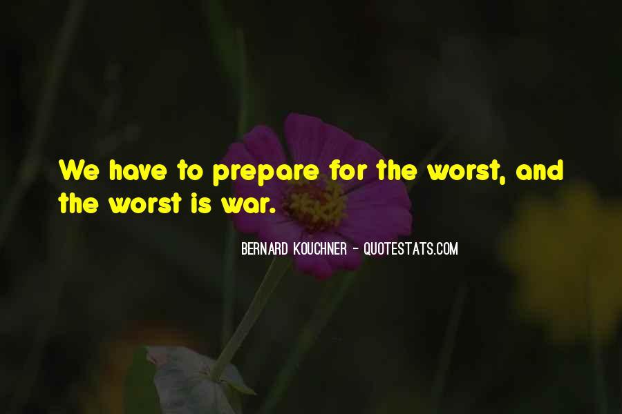 War Preparation Quotes #299521