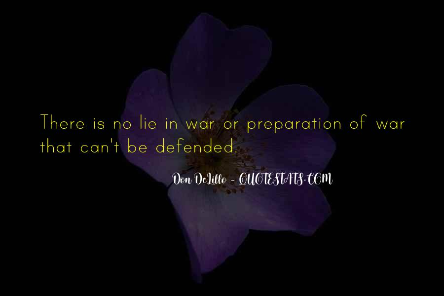 War Preparation Quotes #420631