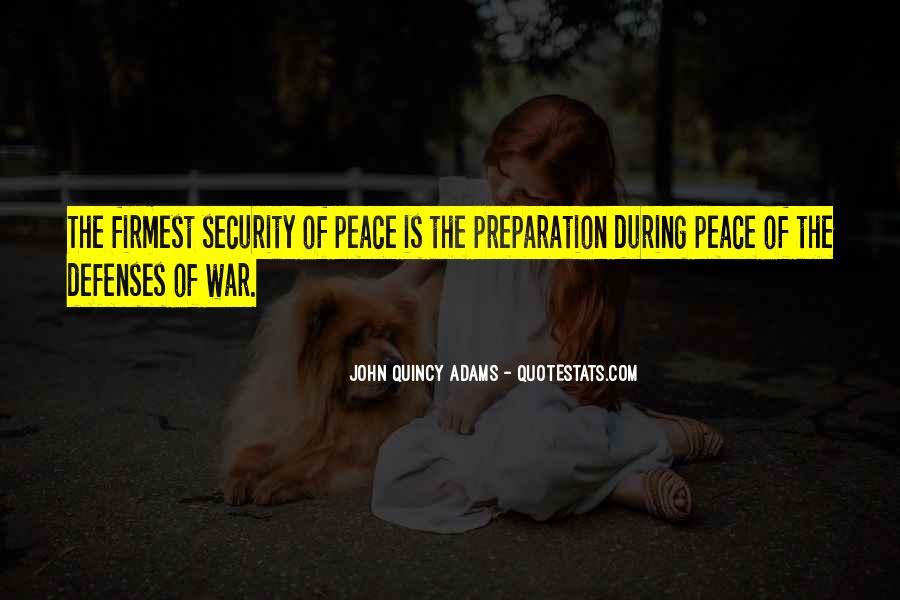 War Preparation Quotes #516581