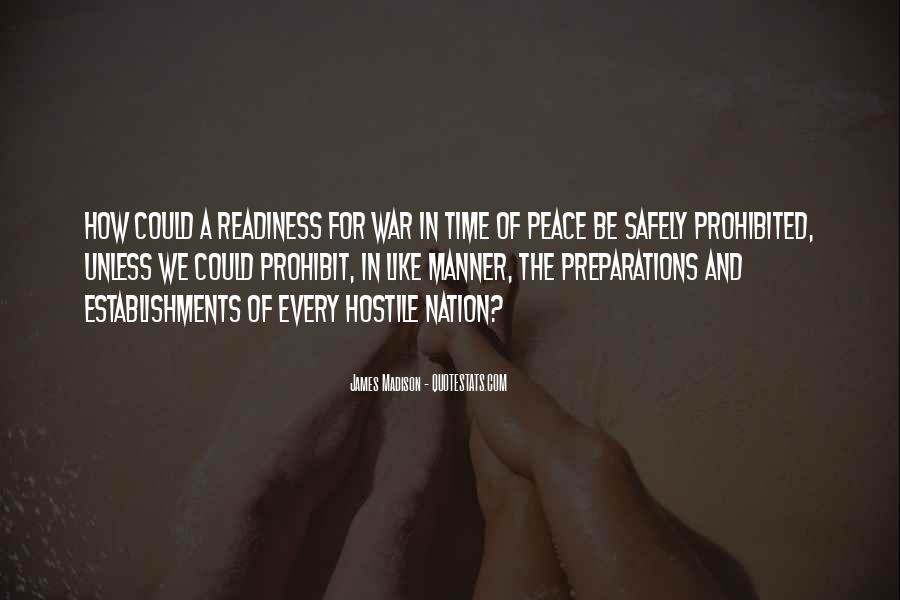 War Preparation Quotes #571292