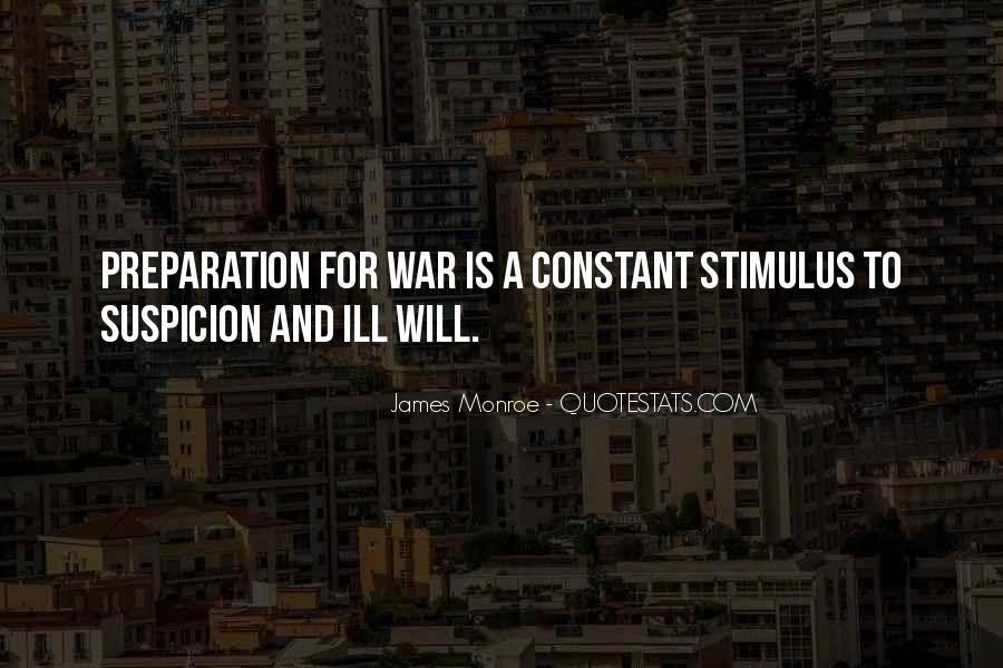War Preparation Quotes #816438