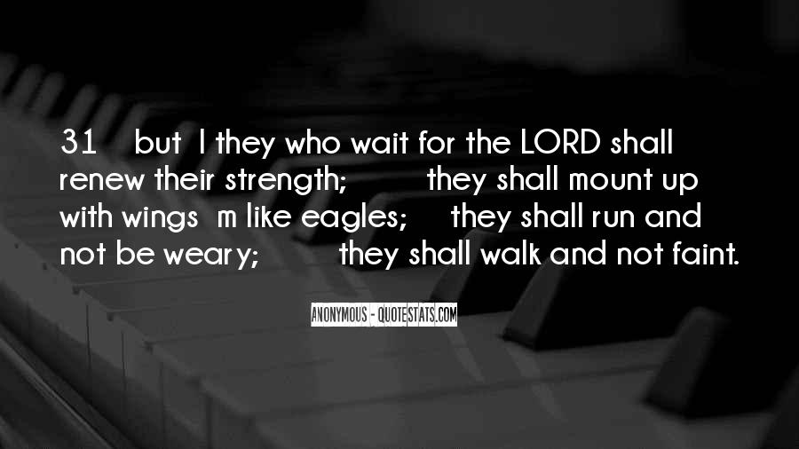 Quotes About Eagles Strength #1581608